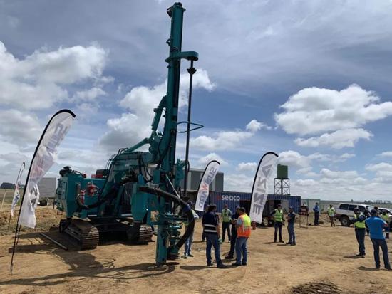 战疫情 山河智能南非凿岩设备推介会成功举办
