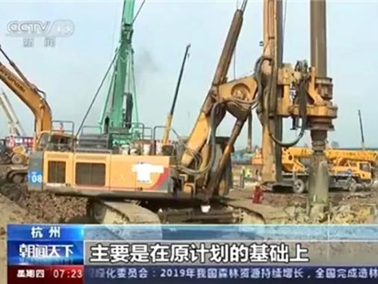 央媒关注,徐工旋挖钻机助力中国高铁速度