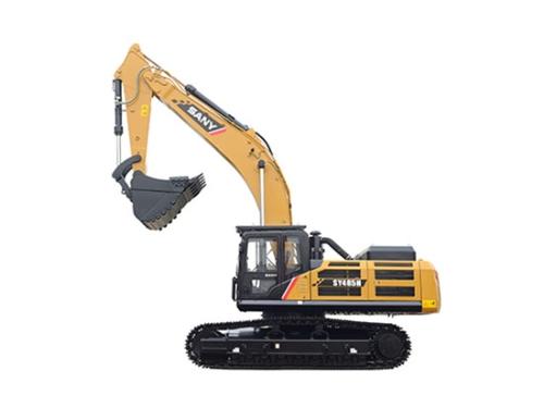 三一SY485H挖掘机和斗山DX500LC-9C挖掘机谁更胜一筹?