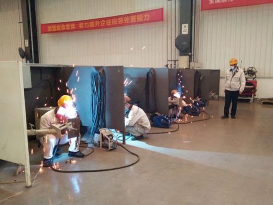 泰富重工制造有限公司被成功认定为湘潭经开区首批企业职工培训中心