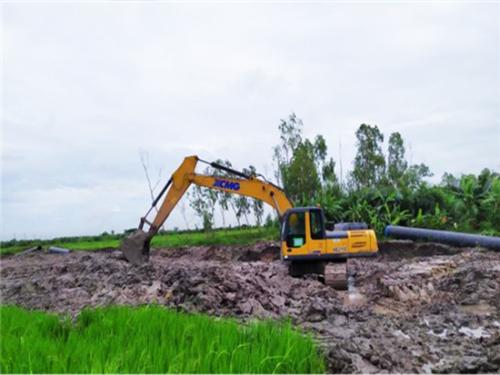 聚焦海外丨征战泰国!徐工挖机助力泰国天然气管道建设!