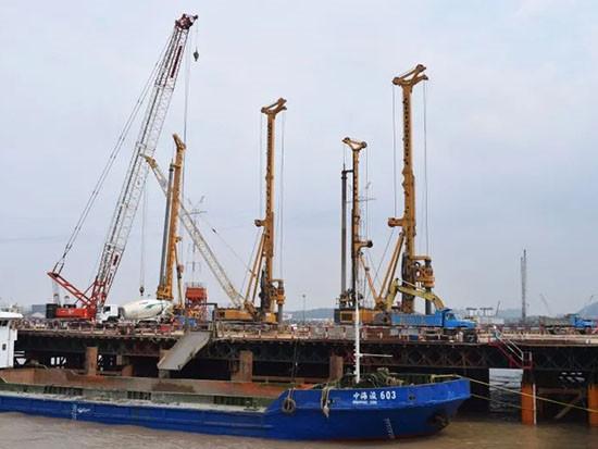 徐工XR550D旋挖钻 大江大河大写的强!