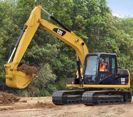 为什么城市改造市政工程,都喜欢用卡特313D2 GC挖掘机