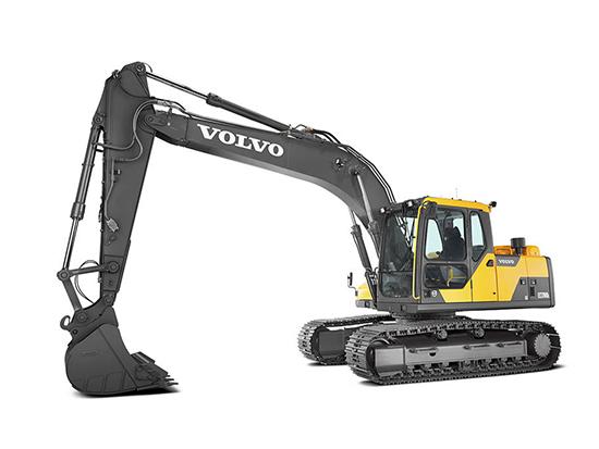 沃尔沃建筑设备荣耀推出:EC170DL履带式挖掘机