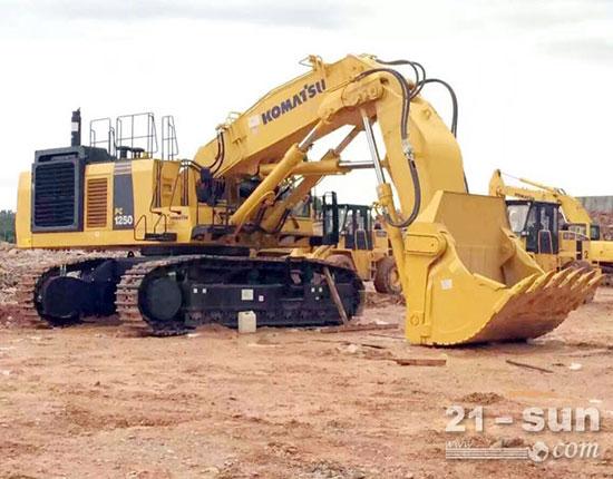 小松PC1250-8挖掘机有哪些优势