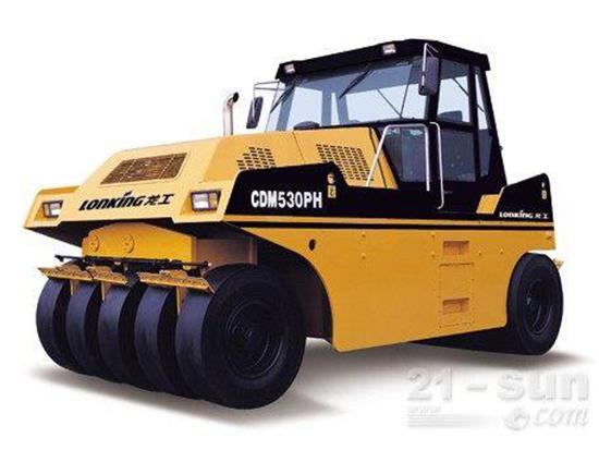任何工况,从容不迫:龙工LG530PH轮胎压路机