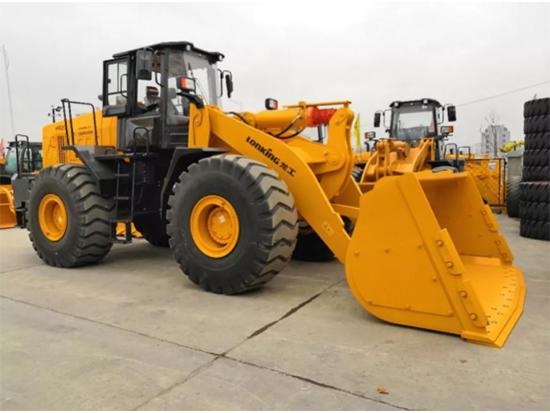 龙工首创,沙石工矿专用:CDM866N轮式装载机