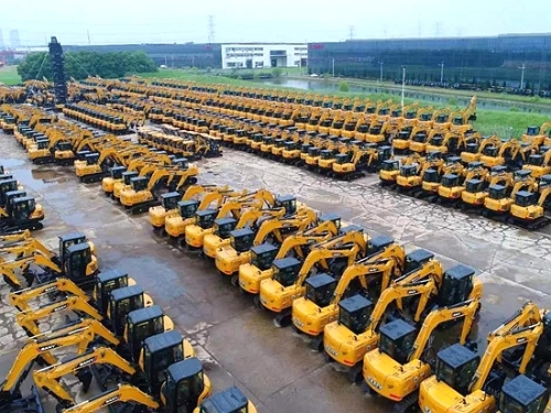 挖掘机销量超预期 刺激工程机械板块走强