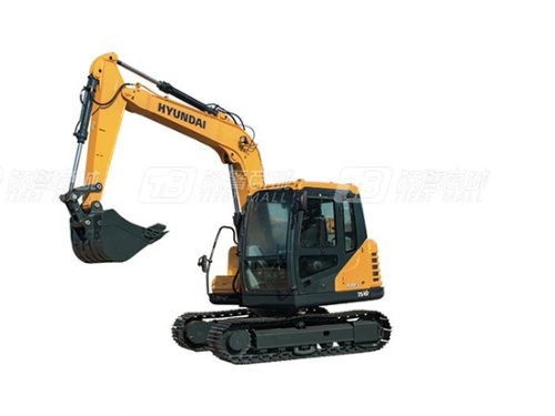 品质至上 现代R75VS小型挖掘机