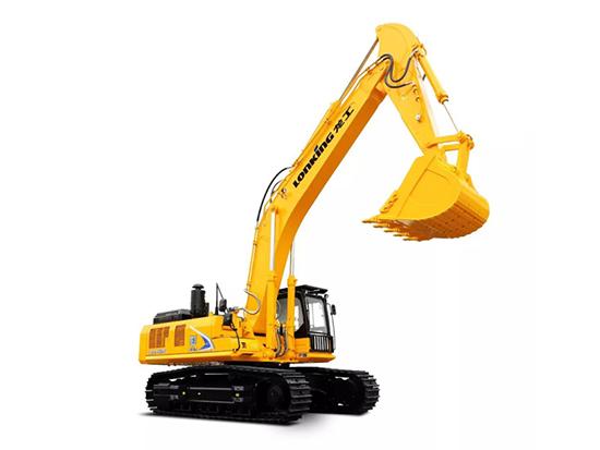 高原地区也动力强劲:龙工LG6486E履带式液压挖掘机!