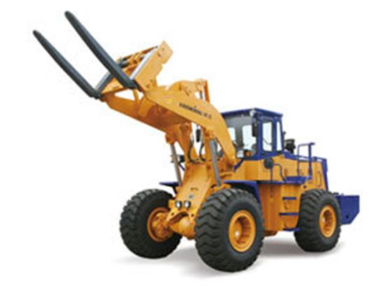 16吨重型叉装:龙工CDM855W叉装机轻松应对!