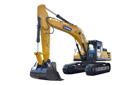 雷沃重工FR390E2-HD挖掘机:复合动作更流畅、更精准