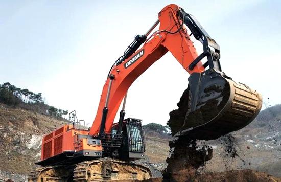 斗山工程机械在青海、内蒙古、山西等地签订20台36~80吨大型机订单