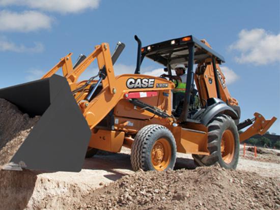 为什么说凯斯580N挖掘装载机中实力担当?