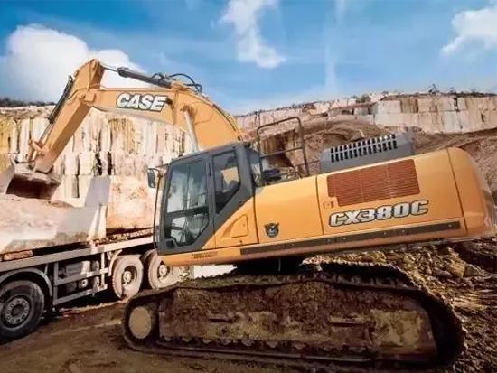 你不敢想的,凯斯CX380C挖掘机都做到了!