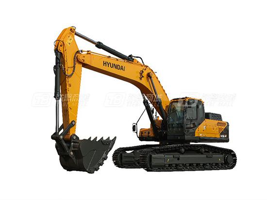 出类拔萃的现代VS系列挖掘机