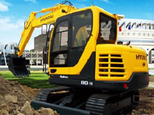 听说现代R80-9挖掘机是现代的明星产品?