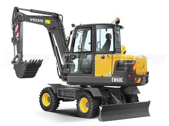 沃尔沃EW60C挖掘机小而强大的原因竟然是这样?