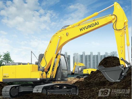 以高性价比著称的现代R225LC-7挖掘机怎么样呢?