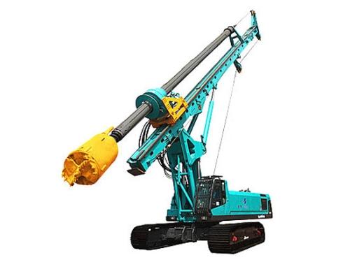 山河智能为旋挖钻机提供保障服务