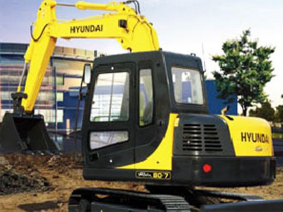 优质高效的现代R80-7挖掘机