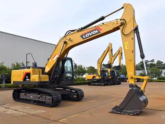 雷沃FR205E2-H挖掘机 土方专家 省油利器