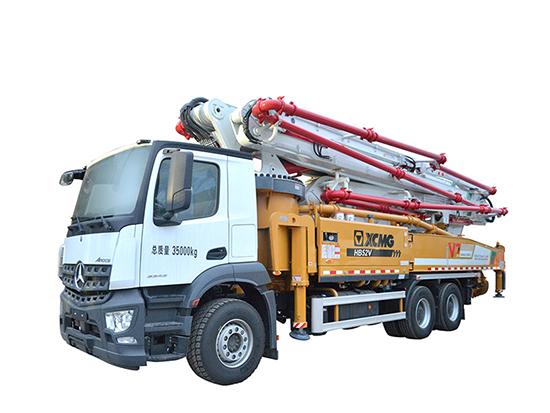 12项技术全能徐工HB52V泵车攻守兼备!