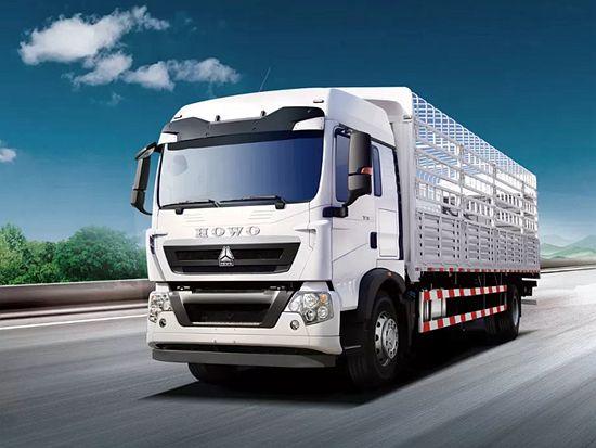 中国重汽全新一代豪沃TX高顶双卧载货车震撼上市