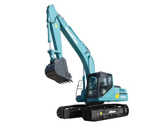 山河智能新研发的配件在挖机上的应用