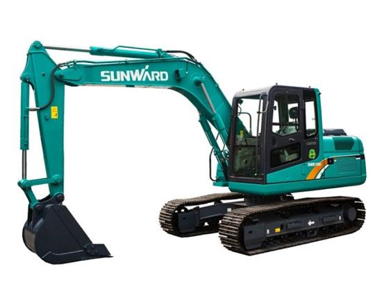 山河智能SWE100E履带挖掘机:为客户创造价值