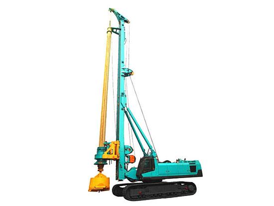 施工效率高,适用性强:山河智能SWDM400旋挖钻机