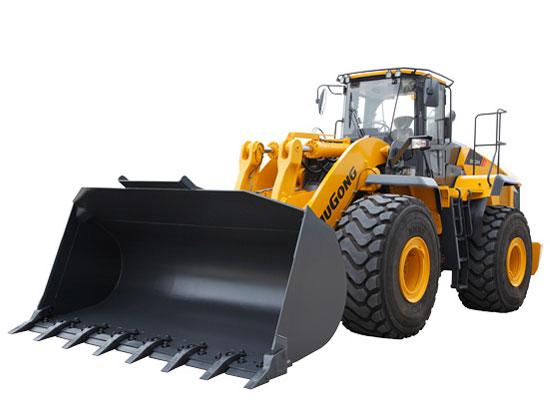 矿山作业的主角——柳工890H轮式装载机