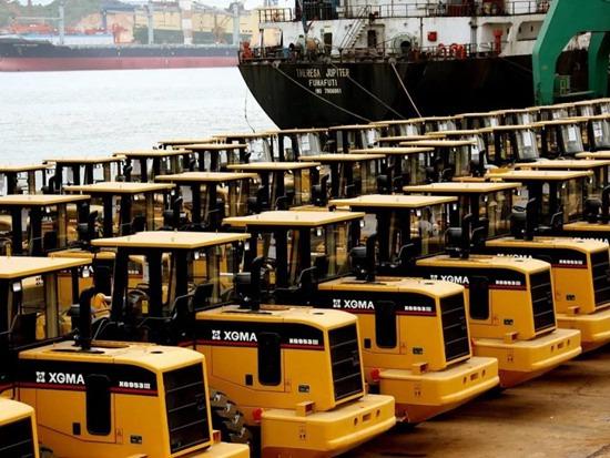 价值超500万美金!厦工高端装备批量发往欧洲