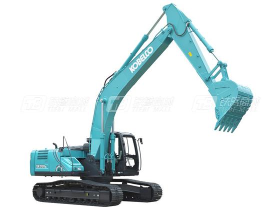 听听林老板如何评价他的神钢SK260挖掘机