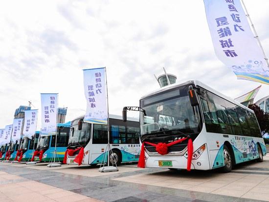 又150辆氢燃料电池公交车投放潍坊 潍柴氢能产业加速起跑
