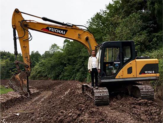 一年就回本,创业好伙伴!重庆黄老板认准玉柴挖掘机