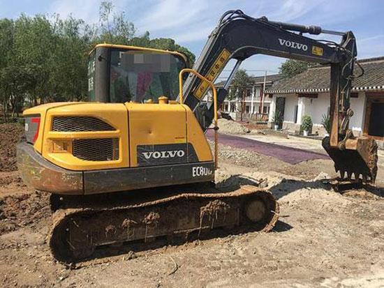 想买10吨以下的小挖,沃尔沃这款小挖可以考虑一下
