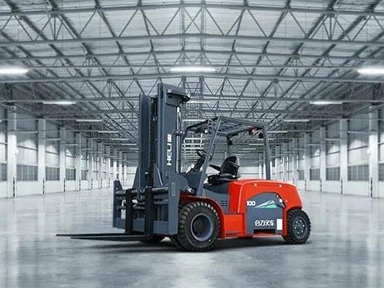 合力10吨电动叉车顺利交付某外资企业