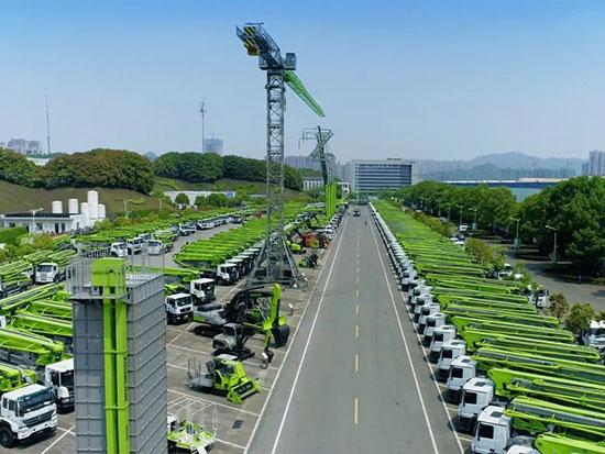中联重科起重机械增势强劲 小吨位汽车起重机5月产销双破5亿