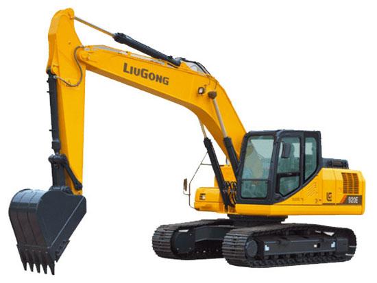 极高的质量与性能——柳工920E挖掘机
