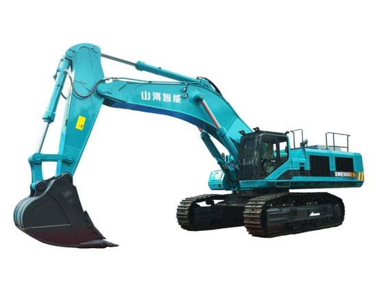 用户的高度评价——山河智能SWE900ES混合动力挖掘机