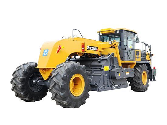 效率提高,注重环保;徐工XLZ2103E路面冷再生机。