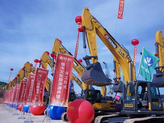 """广西""""千亿级""""项目开工,80台徐工中大挖实力助阵!"""
