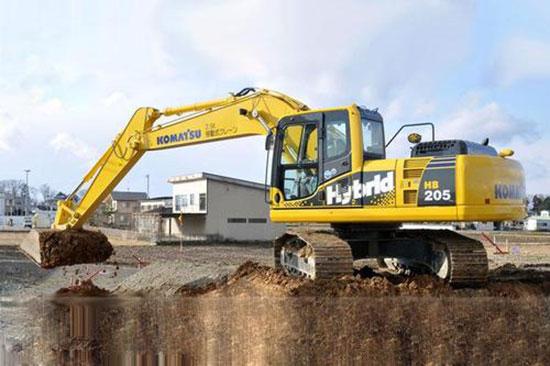 小松HB205-1M0挖掘机油耗问题