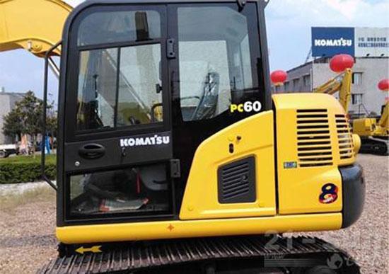 6吨小松PC60-8挖掘机速度怎么样?