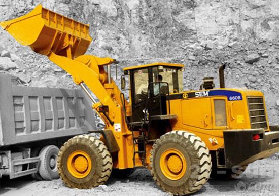 山工SEM680D轮式装载机效率问题