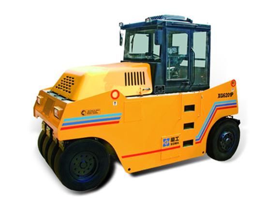 厦工XG6261P轮胎式压路机:灵活高效、工作可靠