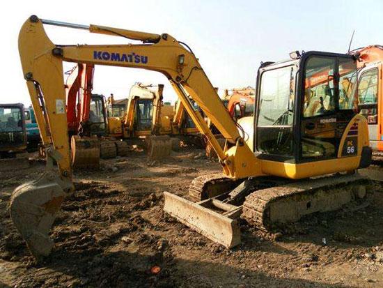 细数一下小松PC56-7挖掘机有哪些特点