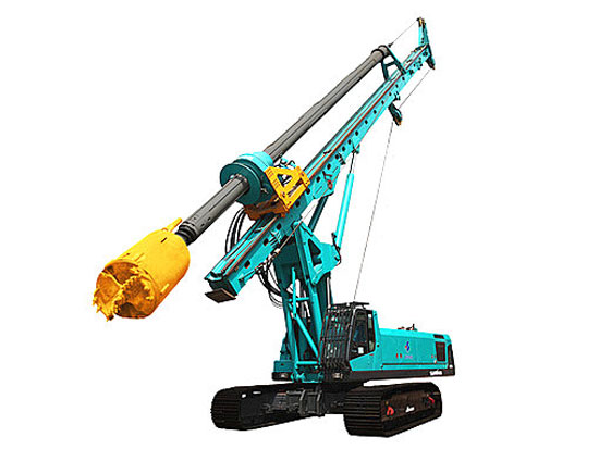 山河智能SWDM200旋挖钻机的日常保养维护措施
