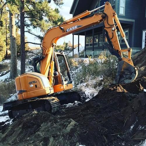 翻建、拆除违章建筑谁家强?凯斯CX75SR了解一下